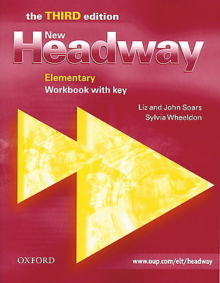 Oxford NEW HEADWAY Elementary THIRD EDITION Workbook with Key @NEW@