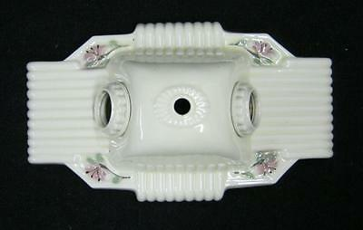 Vintage Shabby Floral Chic Ceiling Light Antique 1947-13