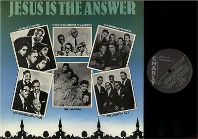 Lp/ Jesus Is The Answer / Gospel-Sampler / Charly Records Crb 1083