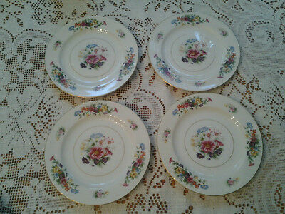 WENTWORTH JAPAN DRESDON BREAD AND BUTTER PLATES