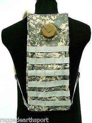 MOLLE Combat Hydration Carrier Pack Water Bladder New ARMY DIGI ACU CAMO
