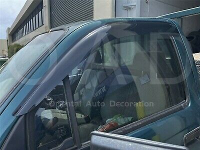 Premium Weathershields Weather Shields Window Visors Hilux Single Cab 97-05