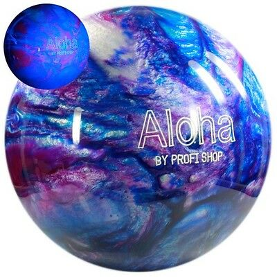 Bowling Ball Aloha Open Water 14 lbs, Polyesterball für Strike & Spare