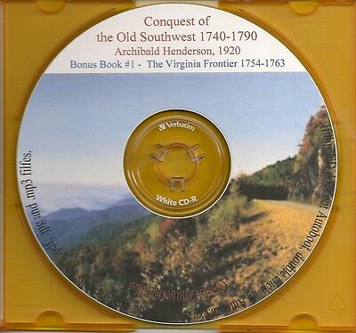 Conquest of the Old Southwest  - Va, KY & TN Genealogy
