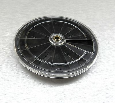 """Revolving Tray Round Plastic Storage Container 12 Sections 3-5/16"""" Small Parts"""