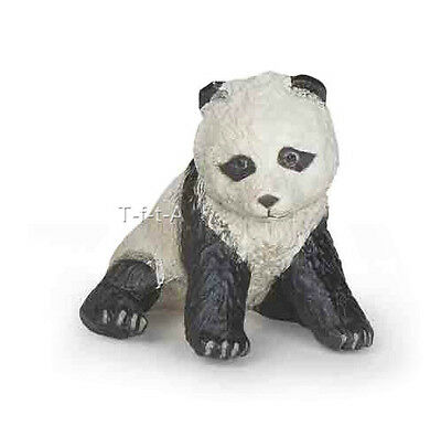 FREE SHIPPING | Papo 50135 Panda Bear Cub Sitting Wild Baby Toy - New in Package