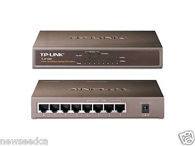 TP-Link TL-SF1008P 8 Port 10/100 Desktop Switch with 4 PoE Port