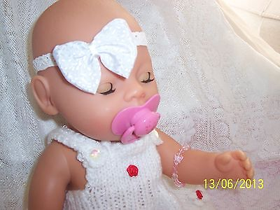 Zapf Creations Pink Dressed Pony & Baby Born Magic Eyes Doll With Dummy
