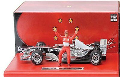 Mattel Michael Schumacher Ferrari Formula 1 diecast model racing cars 1:18th F1
