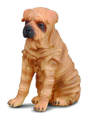 FREE SHIPPING | CollectA 88193 Shar-Pei Realistic Dog Model Toy - New in Package