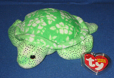 TY SUNRISE the TURTLE  BEANIE BABY with MINT TAGS