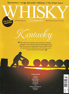WHISKY Magazine July 2013 KENTUCKY BOURBON Louisville BENROMACH Jura @NEW@