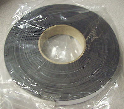 """MasterVision FM2021 Magnetic Adhesive Tape Roll, Black, 1"""" x 50 Ft."""