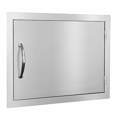 "STG Excalibur Standard 24"" Stainless Steel Horizontal Access Door Model# STGS-HD"