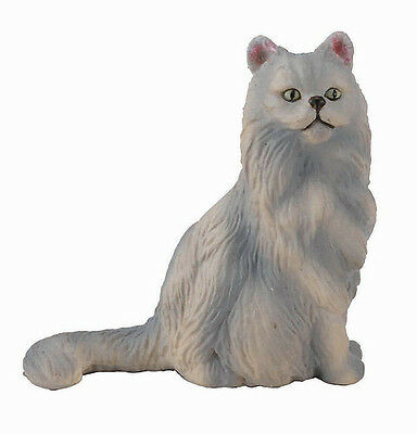 FREE SHIPPING | CollectA 88329 Persian Cat Sitting Toy Replica - New in Package