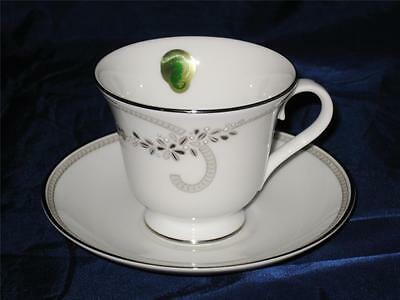 Waterford - BALLET JEWELS - Footed Coffee or Tea Cup & Saucer Set, NEW
