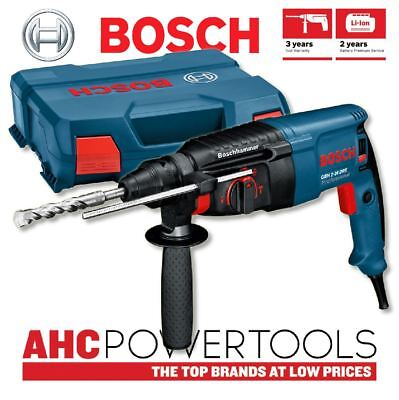 Bosch GBH2-26 DRE 2-kilo 3-mode Rotary Hammer with SDS-Plus Fitting 110V