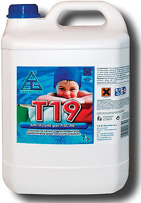 Piscina antialghe Cagchemical T19 5 lt