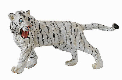 FREE SHIPPING | CollectA 88426 White Tiger Wildlife Model - New in Package