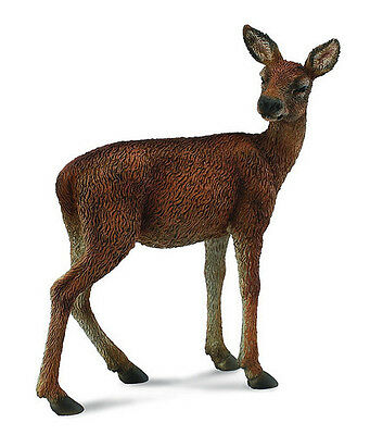 FREE SHIPPING | CollectA 88470 Red Deer DoeToy Replica Animal - New in Package