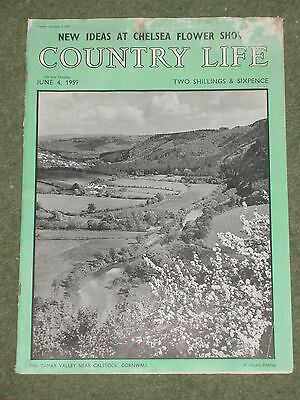 Original Country Life Magazine ideal Birthday Present Dated June 4th 1959