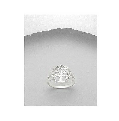 Celtic Tree of Life .925 Sterling Silver Medium Ring Sizes 5-10