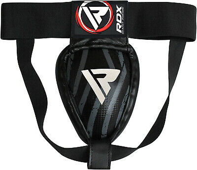 RDX Metal Pro Groin Guard Protector MMA Cup Boxing Abdo Muay Thai Steel Iron UFC