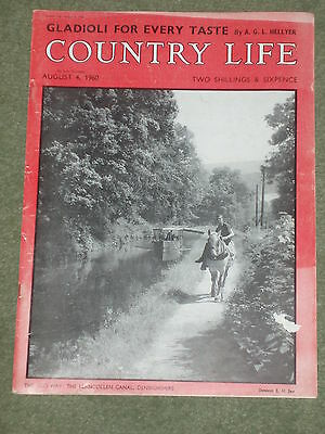 Original Country Life Magazine ideal Birthday Present Dated August 4th 1960