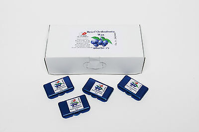Orthodontic Relief Wax For Braces Gum Dental Irritation Specify Flavor 50/box