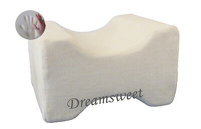 Knee Hip Leg Alignment Memory Foam Pillow Aid For Side Sleepers, Dreamsweet, A6B