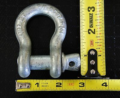"""8x 1/2"""" Shackles Screw Pin Anchor Shackle D Ring Clevis Rigging Chain Rope Cable"""