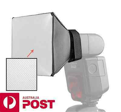 Flash Softbox Diffuser for Canon Speedlite 580 EX II 430EX 550EX 540EZ 380 270