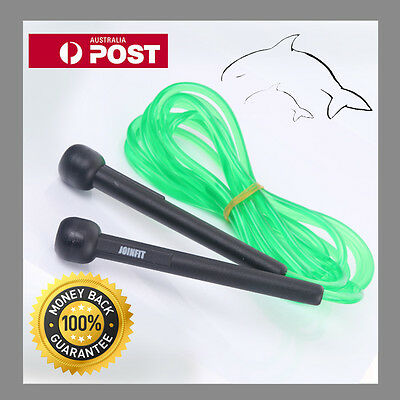 NEW Green ---- SKIPPING ROPE---- KICK BOXING MMA UFC FITNESS GYM SPEED CARDIO