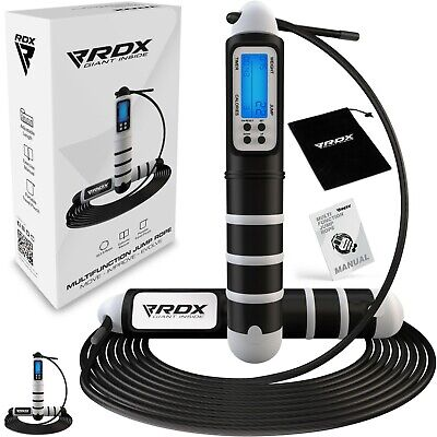 RDX Skipping Rope Fitness Gym Training Jumping Speed Cable Boxing Exercise C5