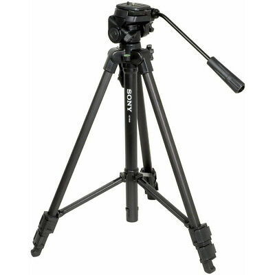 "Sony VCT-R640 61"" 61 Inch Photo/Video Tripod with 2-Way Pan & Tilt Head Black"