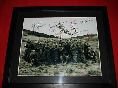 DADS ARMY SIGNED 10X8 FRAMED & MOUNTED PHOTO mainwaring