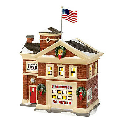 Department 56 Firehouse No. 5 56.4020214