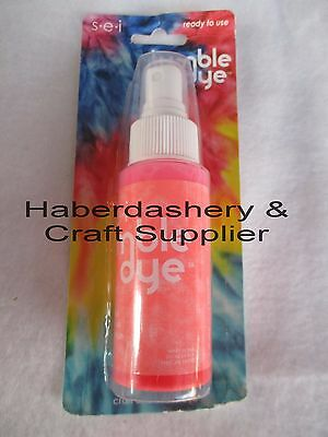 Fabric & Craft Dye *permanent 5 Assorted Colors *water Based