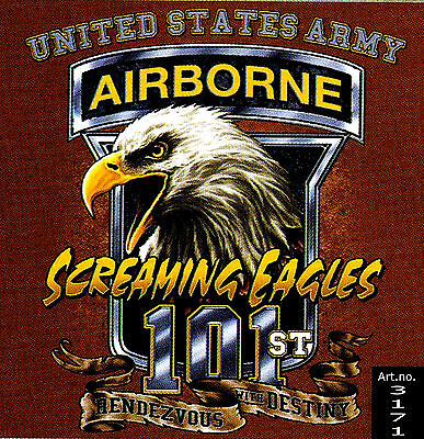 * Adler US Special Forces Airborne Eagle Army Navy Seals T-Shirt * 3171 gr
