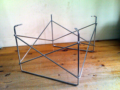 Chrome LTR Wire Base For Side Table ~ Modern Eam es~