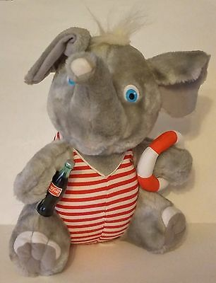 1993 Coca-Cola Collection Plush / Stuffed Elephant