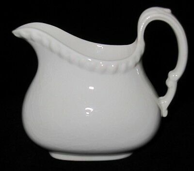 Copeland Spode - GADROON - Off White Rope Edged - Brown Stamp - Creamer