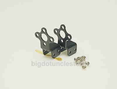 129: 2x Aluminium Motor Mount Suit for 2208,2212 class BL motor &GWS 10mm Stick