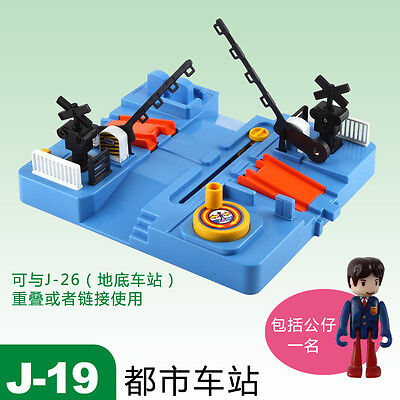 Tomy Train Scenic Part- J-19 Plakids Sound Cross Set