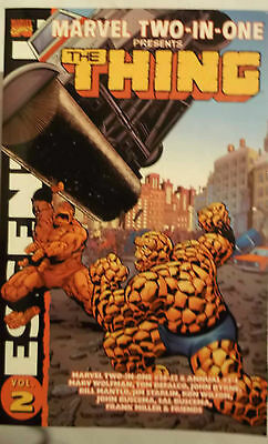 NEUF   ESSENTIAL MARVEL TWO-IN-ONE  2 (Marvel) 550 pg