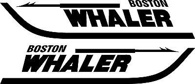 Boston Whaler Vinyl Decal Sticker Free Shipping