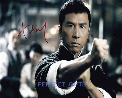 Donnie Yen Ip Yip Man Signed 10X8 Pp Photo