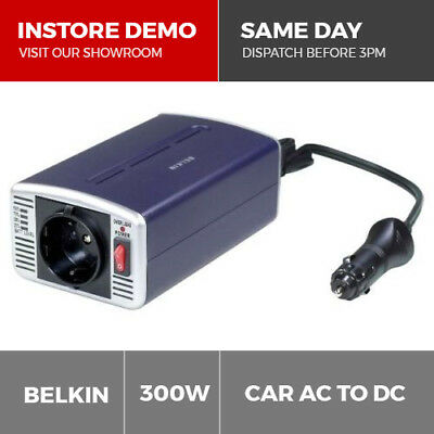 Belkin AC Anywhere 300W Car DC to AC Power Inverter Laptop Charger Power Supply