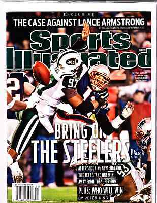 January 24, 2011 Tom Brady and Calvin Pace Regional SPORTS ILLUSTRATED NO LABEL