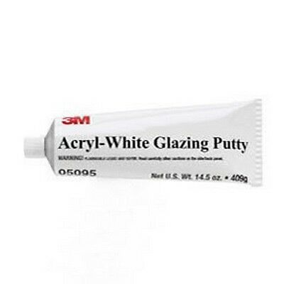 Acryl-White Putty, 14.5 oz Tube 3M-5095 Brand New!